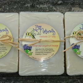 Handmade Soap Loaded with Organic Shea Butter & infused with Beeswax