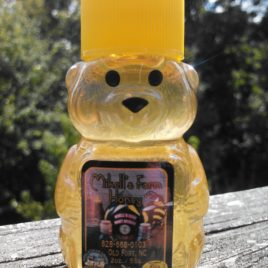 2 oz Raw Wildflower/Spring Blend Plastic Honey Bear