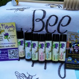 Beeswax Lip Balm In Multiple Flavors With Organic Ingredients