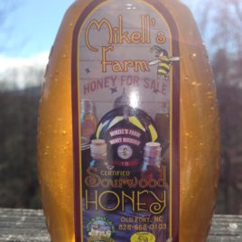 Sourwood Raw Honey in 1 LB Plastic Oval