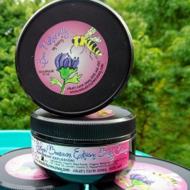 Peppermint Explosion! Shea Butter/Beeswax Extreme Body Creme with Organic Ingredients