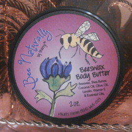 Body Butter Loaded With Shea Butter,Coconut Oil, & Beeswax