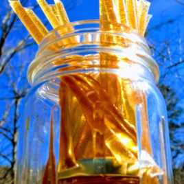 Spring Wildflower Honey Straws 15 for $5; sold in increments of 15 straws for $5
