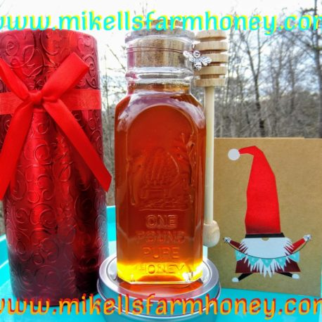 PIC OF HONEY IN MUTH JAR IN GIFT BOX.MFH BNBS